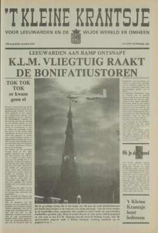 't Kleine Krantsje, 1964-1997 1976-04-03
