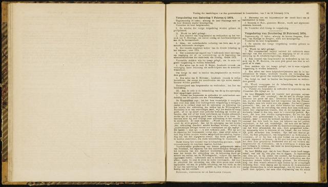 Raadsverslagen van de gemeente Leeuwarden, 1865-2007 (Notulen) 1874-02-07