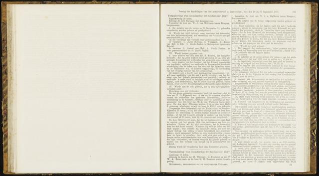 Raadsverslagen van de gemeente Leeuwarden, 1865-2007 (Notulen) 1877-09-20