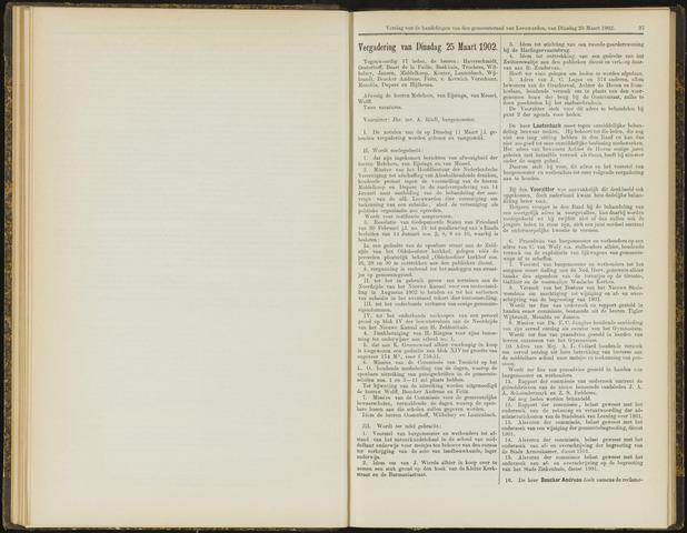 Raadsverslagen van de gemeente Leeuwarden, 1865-2007 (Notulen) 1902-03-25
