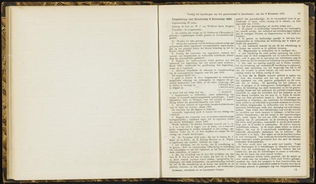 Raadsverslagen van de gemeente Leeuwarden, 1865-2007 (Notulen) 1883-11-08