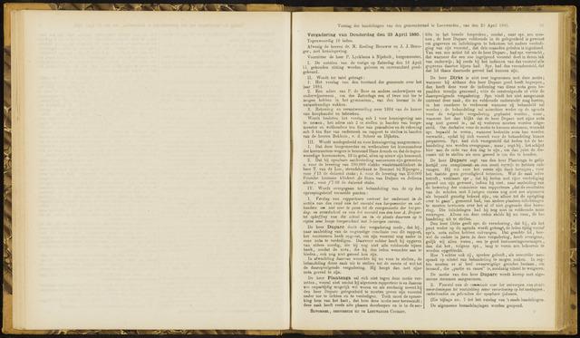 Raadsverslagen van de gemeente Leeuwarden, 1865-2007 (Notulen) 1885-04-23