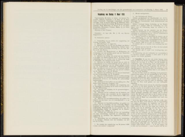Raadsverslagen van de gemeente Leeuwarden, 1865-2007 (Notulen) 1930-03-11