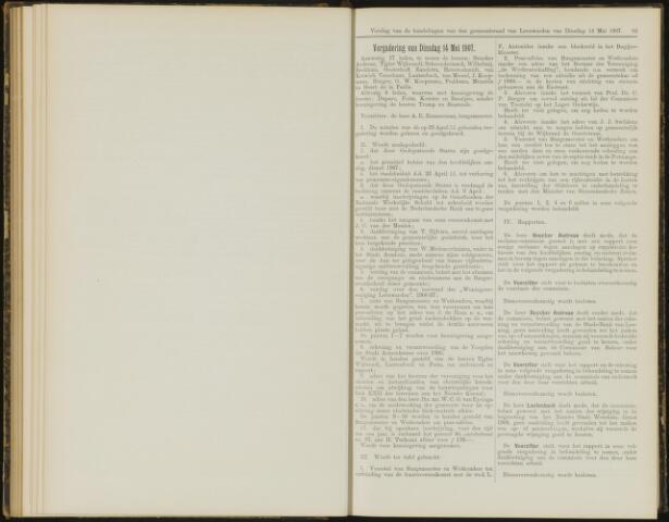 Raadsverslagen van de gemeente Leeuwarden, 1865-2007 (Notulen) 1907-05-14