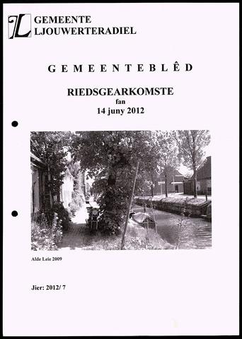 Notulen van de gemeenteraad van Leeuwarderadeel 2012-06-14