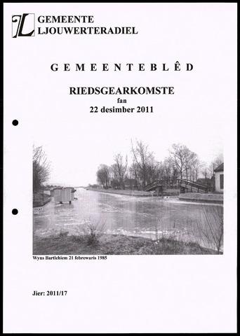 Notulen van de gemeenteraad van Leeuwarderadeel 2011-12-22