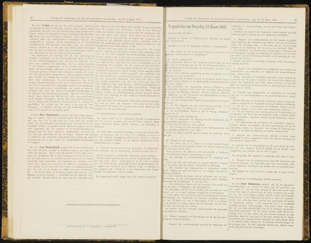 Raadsverslagen van de gemeente Leeuwarden, 1865-2007 (Notulen) 1887-03-22