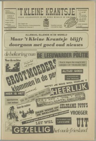 't Kleine Krantsje, 1964-1997 1972-01-08