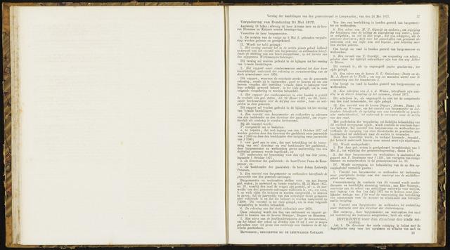 Raadsverslagen van de gemeente Leeuwarden, 1865-2007 (Notulen) 1877-05-24