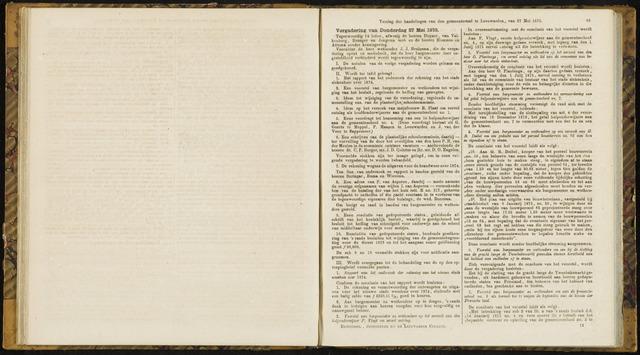 Raadsverslagen van de gemeente Leeuwarden, 1865-2007 (Notulen) 1875-05-27