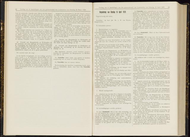 Raadsverslagen van de gemeente Leeuwarden, 1865-2007 (Notulen) 1929-04-16
