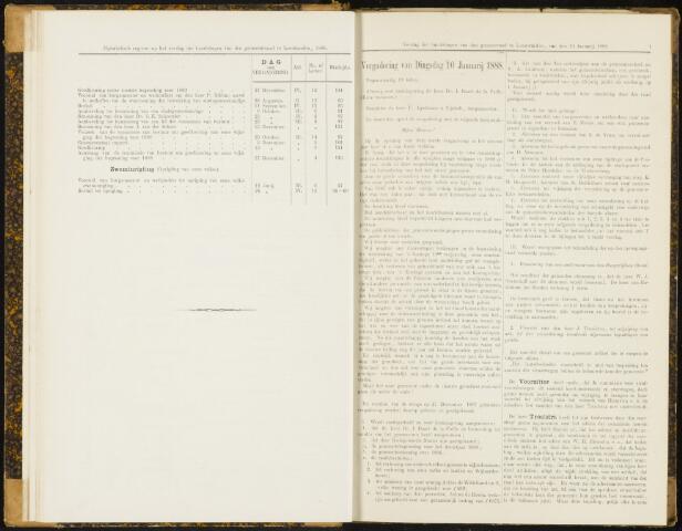 Raadsverslagen van de gemeente Leeuwarden, 1865-2007 (Notulen) 1888