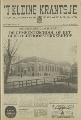 't Kleine Krantsje, 1964-1997 1978-09-30