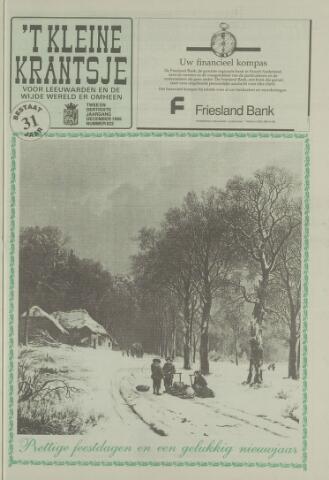 't Kleine Krantsje, 1964-1997 1995-12-01