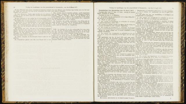 Raadsverslagen van de gemeente Leeuwarden, 1865-2007 (Notulen) 1877-04-12
