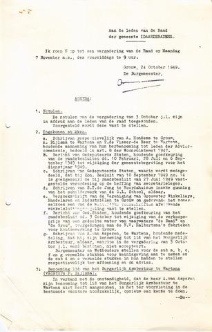 raadsverslagen Idaarderadeel 1935-1983 1949-11-07