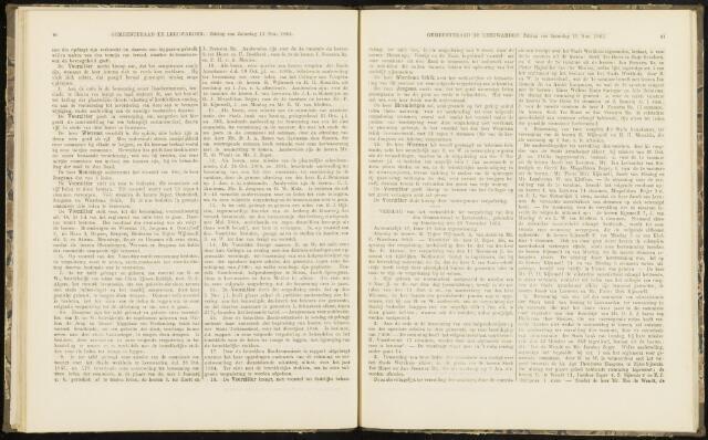 Raadsverslagen van de gemeente Leeuwarden, 1865-2007 (Notulen) 1865-11-23