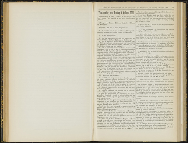 Raadsverslagen van de gemeente Leeuwarden, 1865-2007 (Notulen) 1901-10-08