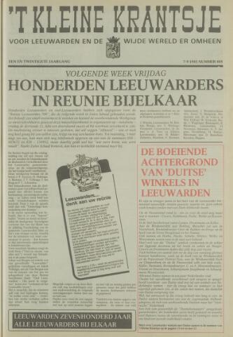 't Kleine Krantsje, 1964-1997 1985-09-07