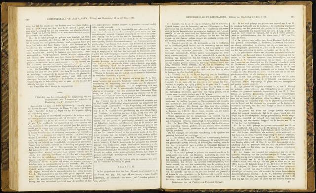Raadsverslagen van de gemeente Leeuwarden, 1865-2007 (Notulen) 1866-12-27