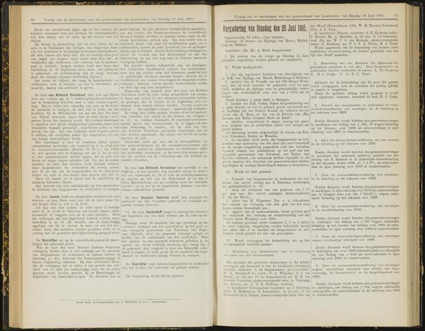 Raadsverslagen van de gemeente Leeuwarden, 1865-2007 (Notulen) 1901-06-25