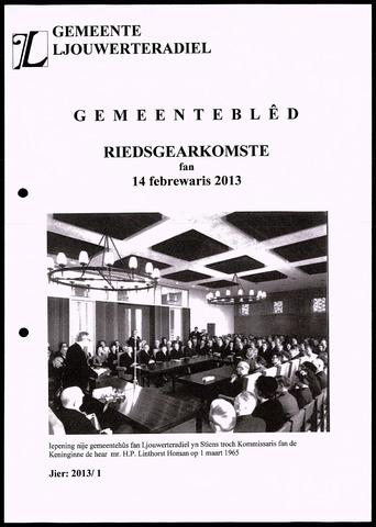 Notulen van de gemeenteraad van Leeuwarderadeel 2013-02-12