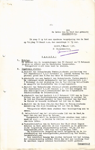raadsverslagen Idaarderadeel 1935-1983 1950-03-10