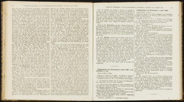 Raadsverslagen van de gemeente Leeuwarden, 1865-2007 (Notulen) 1880-04-14