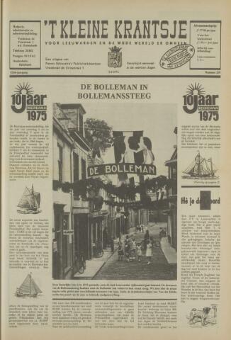't Kleine Krantsje, 1964-1997 1975-04-05