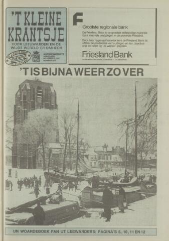 't Kleine Krantsje, 1964-1997 1991-11-01