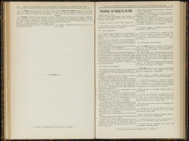 Raadsverslagen van de gemeente Leeuwarden, 1865-2007 (Notulen) 1900-07-24