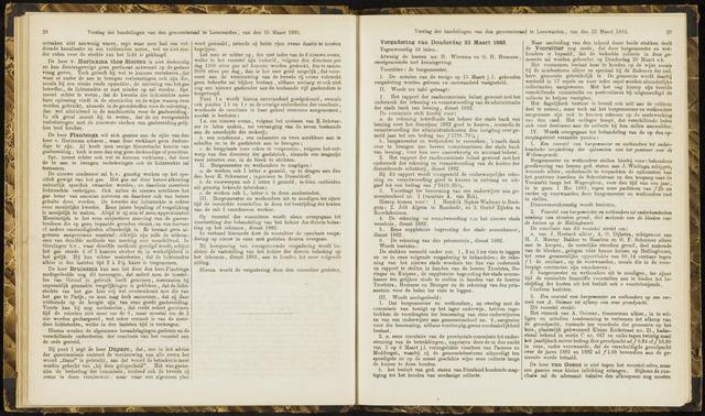 Raadsverslagen van de gemeente Leeuwarden, 1865-2007 (Notulen) 1883-03-22