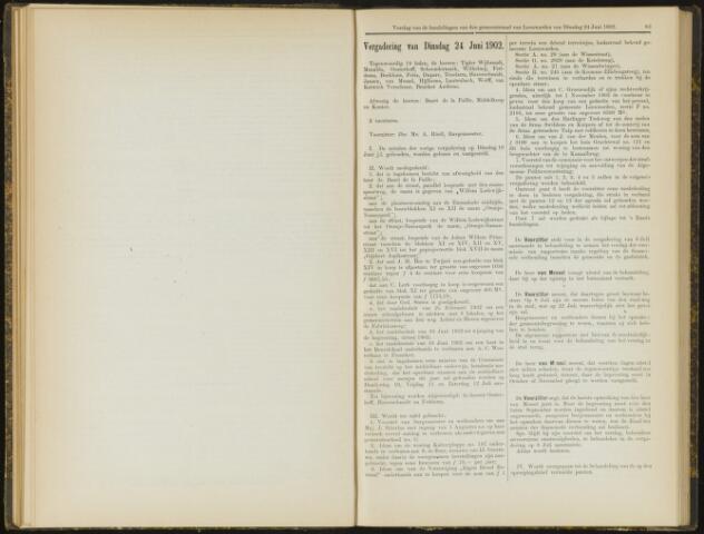 Raadsverslagen van de gemeente Leeuwarden, 1865-2007 (Notulen) 1902-06-24