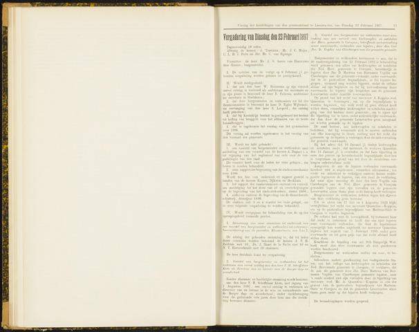 Raadsverslagen van de gemeente Leeuwarden, 1865-2007 (Notulen) 1897-02-23