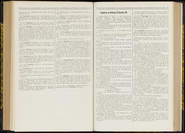 Raadsverslagen van de gemeente Leeuwarden, 1865-2007 (Notulen) 1916-12-28