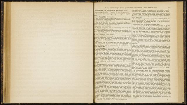 Raadsverslagen van de gemeente Leeuwarden, 1865-2007 (Notulen) 1873-11-08