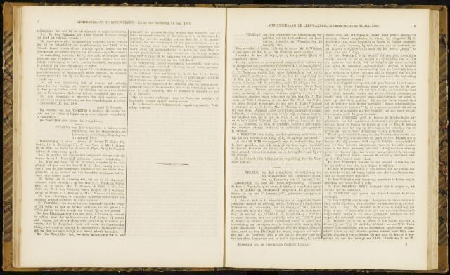 Raadsverslagen van de gemeente Leeuwarden, 1865-2007 (Notulen) 1866-01-16