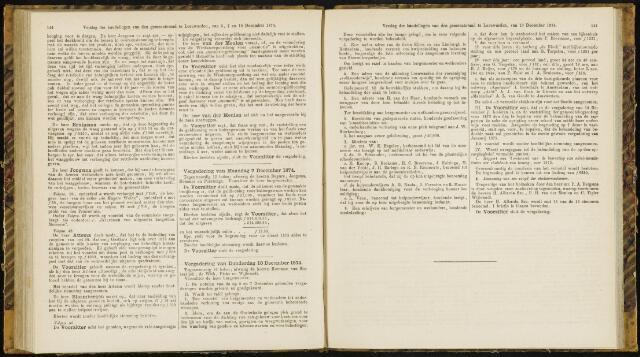 Raadsverslagen van de gemeente Leeuwarden, 1865-2007 (Notulen) 1874-12-07