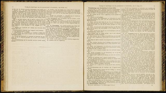 Raadsverslagen van de gemeente Leeuwarden, 1865-2007 (Notulen) 1874-11-06