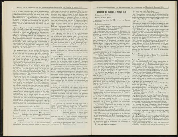 Raadsverslagen van de gemeente Leeuwarden, 1865-2007 (Notulen) 1935-02-11