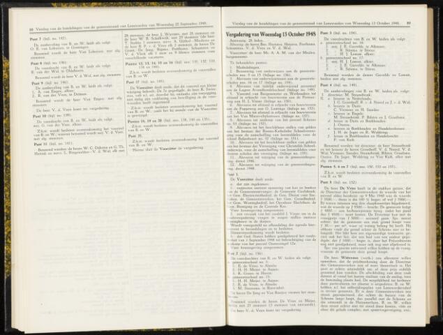 Raadsverslagen van de gemeente Leeuwarden, 1865-2007 (Notulen) 1948-10-13