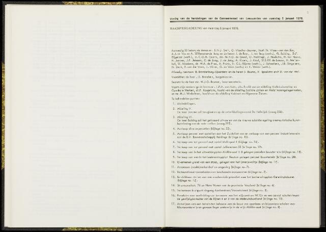 Raadsverslagen van de gemeente Leeuwarden, 1865-2007 (Notulen) 1976