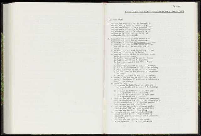Raadsverslagen van de gemeente Leeuwarden, 1865-2007 (Bijlagen) 1978-01-01
