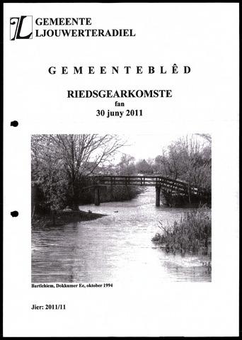 Notulen van de gemeenteraad van Leeuwarderadeel 2011-06-30