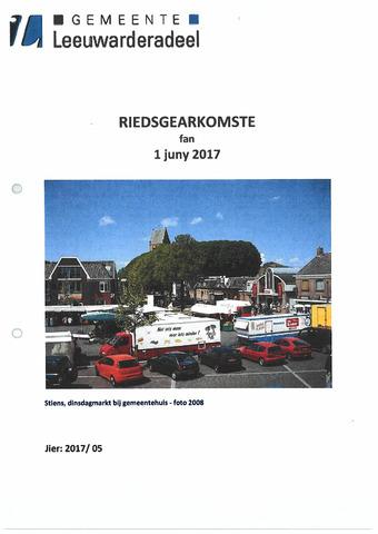 Notulen van de gemeenteraad van Leeuwarderadeel 2017-06-01