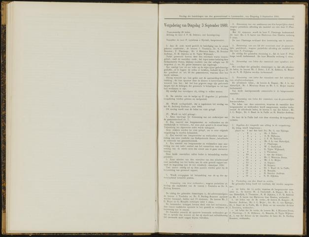 Raadsverslagen van de gemeente Leeuwarden, 1865-2007 (Notulen) 1889-09-03