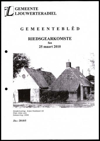 Notulen van de gemeenteraad van Leeuwarderadeel 2010-03-25