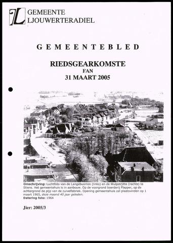 Notulen van de gemeenteraad van Leeuwarderadeel 2005-03-31