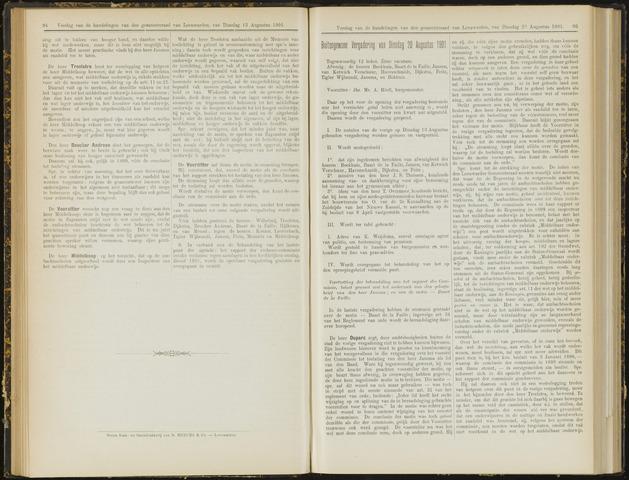 Raadsverslagen van de gemeente Leeuwarden, 1865-2007 (Notulen) 1901-08-20