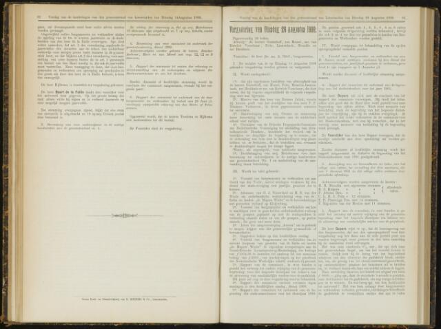 Raadsverslagen van de gemeente Leeuwarden, 1865-2007 (Notulen) 1900-08-28